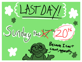 Last Day!: OC Requests by NoneToon
