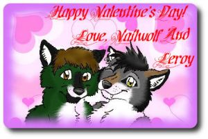 Happy Valentines Day by Vailwolf