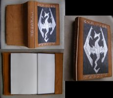6 x 9 Skyrim sketchbook by Laiminar