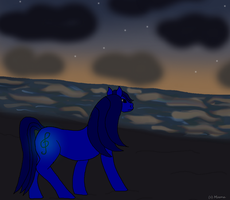 Lighting Song Watches Dusk by CrazyAngelPony
