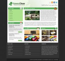 Green Clean Business Template by mabucs