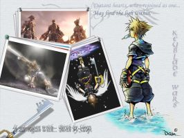 Kingdom Hearts, The Wallpaper by xWoliex