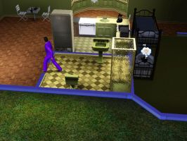 Sims 3 - Eugene got out of the bathroom by Magic-Kristina-KW