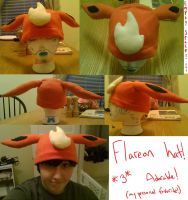 Flareon Hat by Count-Von-Sammitchy