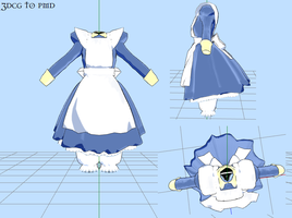 MMD 'The little' Dress DWNLD by MMDFakewings18