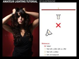 amateur lighting tutorial by Elektrische