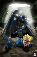 Animal Man / Batman - Issue #4 Cover by ElOctopodo