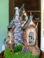 Tiny Cottage by rosannasart