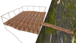 Dangerous Deck On Cliff Stage by mbarnesMMD