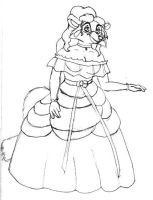 Alexia as a Southern Belle by jade-beaver