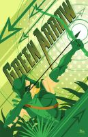 Green Arrow by MikeMahle
