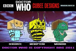 Cubee Who - 2 by mikedaws