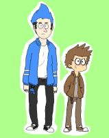 Regular Show humans by TanTeTOONS