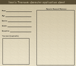 Inaris Tearoom character sheet by The-Clockwork-Crow
