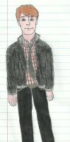 Sketched in School: Kapranos by TheSimpsonsFanGirl
