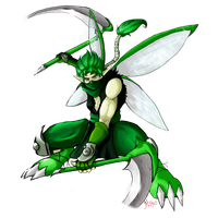 No. 123 Scyther by BladeGunSniper