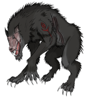 Elder Werewolf Ammut by Arrancarfighter