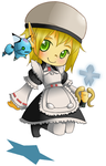 Magical Maid Tesu by BluevanDeurs