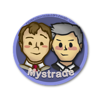 Mystrade Shipping Button by RavenclawHobbit
