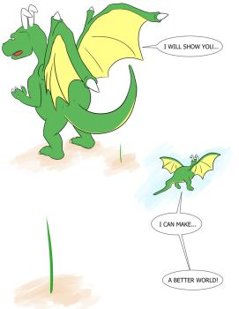 A Blade of Grass and The Dragon God Page 7 by Ignitedstar