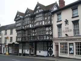 The Feathers Hotel at Ludlow by AetheriumDreams