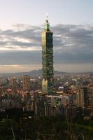 Taipei 101 from Mt. Elephant 2 by JeffreyNurhakim