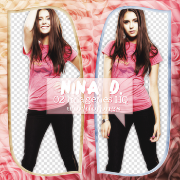 Pack png 19 - Nina Dobrev by worldofpngs