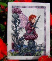 Thistle Fairy by Helens-Serendipity
