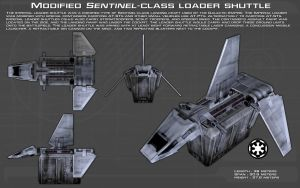 Sentinel-class loader shuttle ortho [1][New] by unusualsuspex