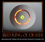 RRoD Demotivational Poster by Rayloth