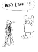 ROXAS DON'T LEAVE by Azurith