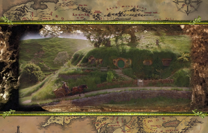 LOTR background by RyouFarseer