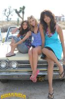 Brenda Song, Alyson Michalka and Katerina Graham by lowerrider