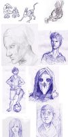 Sketchdump July-October 2013 by TheMoub