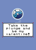 Pokeball Valentine Card_Dive Ball by dareatlas