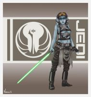 Jedi character 02 by Vaessili