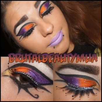Dark horse inspired makeup by brutal beauty mua by Brittany13Brutal