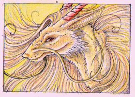 ACEO Golden one by Sunima