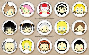 [NOW ON SALE] [TKN] BUTTONS! by monobun