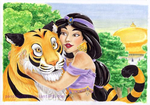 Luv for Tigers by JPepArt