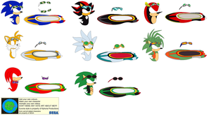Character Builder-Sonic Riders Gear And Goggles by Kphoria
