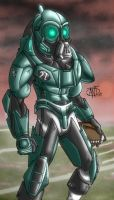 Post-apocalyptic Football by AntManTheMagnif