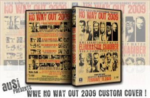WWE NO WAY OUT 2009 DVD COVER by AusiXFoX