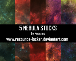 Nebula Pack 1 by JU5TPeachy