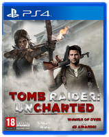 TOMB RAIDER: UNCHARTED - Custom PS4 Box Art by TheSquishyPancake