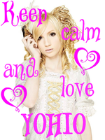 Keep calm and love YOHIO by Sinjusha