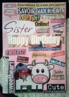 Josie's birthday card - front by xpekalx
