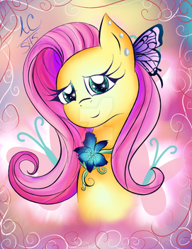 Our Timid Fluttershy by Animechristy