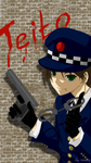 07-Ghost: Teito. police by rinity