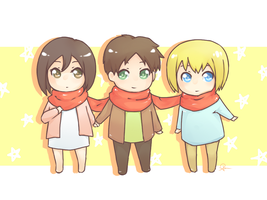 Shingeki no KAWAIIUGH by nemutte0no0ame